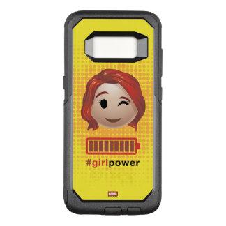 #girlpower Black Widow Emoji OtterBox Commuter Samsung Galaxy S8 Case