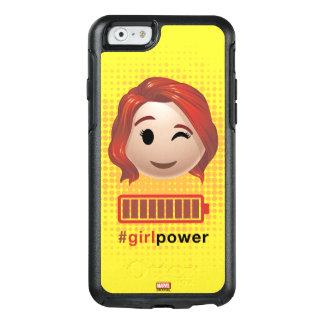 #girlpower Black Widow Emoji OtterBox iPhone 6/6s Case