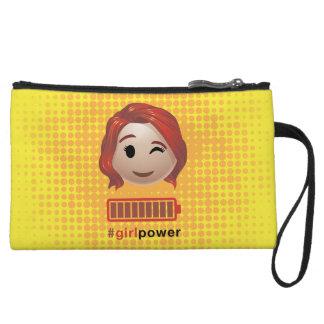 #girlpower Black Widow Emoji Wristlet