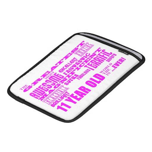 Girls 11th Birthdays : Pink Greatest 11 Year Old iPad Sleeve