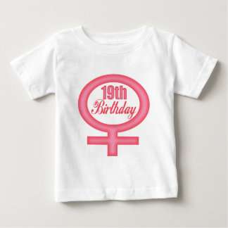 Girls 19th Birthday Gifts Tee Shirt