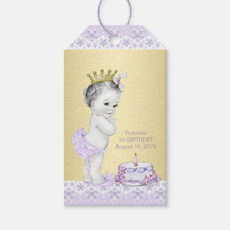 Girls 1st Birthday Party Favor Thank You Tags Pack Of Gift Tags