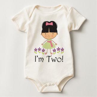 Girls 2nd Birthday Baby Bodysuit