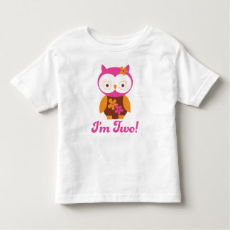 Girls 2nd Birthday Toddler T-shirt