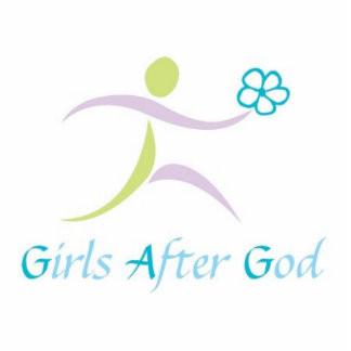 Girls After God Keychain #2 Cut Outs