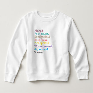 girls aloha sweatshirt