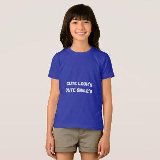 Girls American apparel fine jersey t-shirt