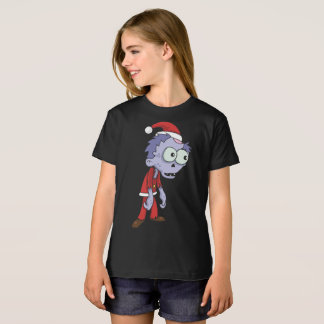 Girls' American Apparel Organic T-Shirt Zombies