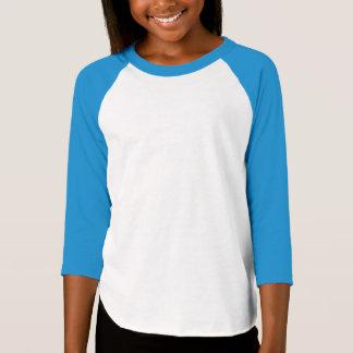 Girls' American Apparel Poly-Cotton 3/4 Sleeve Rag T-Shirt