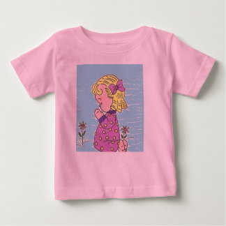 Girls angel tee