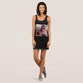 Girls artistic designers dress : Black