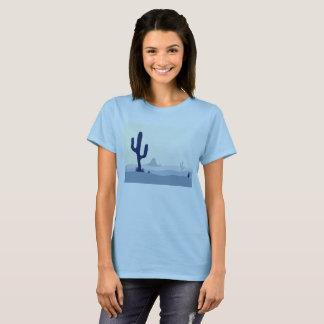 Girls artistic t-shirt : ARIZONA DESSERT CACTI