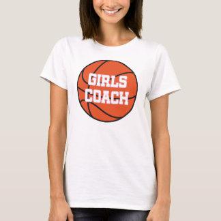 Girls Basketball Coach T-Shirt
