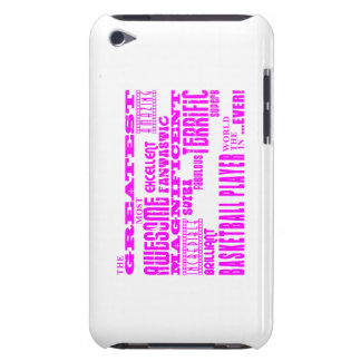 Girls Basketball : Pink Greatest Basketball Player iPod Touch Case