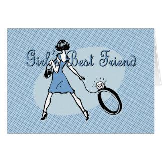 Girl's Best Friend Card