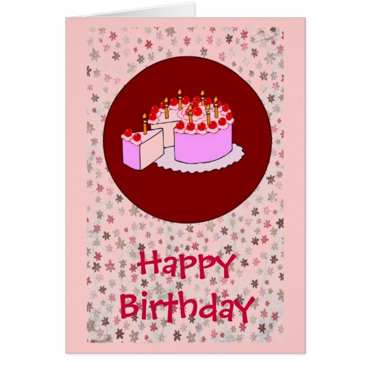 Girl's birthday card