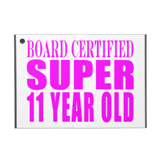 Girls Birthdays B Certified Super Eleven Year Old Cover For iPad Mini