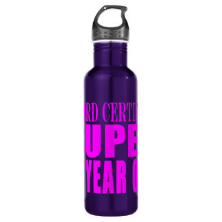 Girls Birthdays B. Certified Super Eleven Year Old 24oz Water Bottle