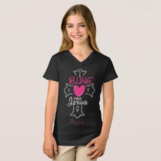 Girls' Bling Life I Bling for Jesus Shirt