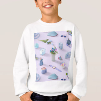 Girl's Blue Dream Sweatshirt