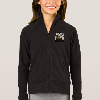 Girls Boxer Craft Practice Jacket with dice