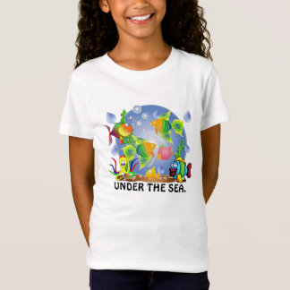 girls,boys fish t-shirt. T-Shirt
