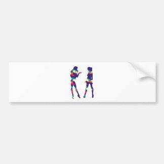 Girls Bumper Sticker