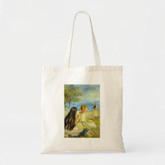 Girls by Pierre Renoir Budget Tote Bag