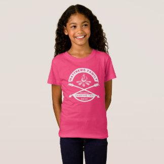 Girls' Camping Trip Reunion Shirt | White Design