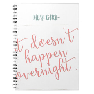 girls can achieve too notebooks