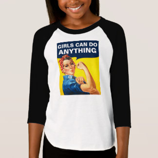 Girls Can Do Anything T-Shirt