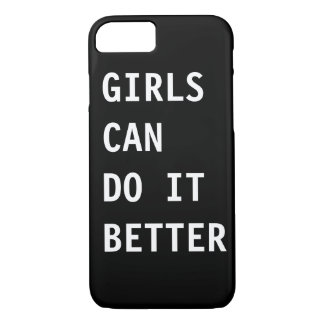 GIRLS CAN DO IT BETTER I-PHONE CASE