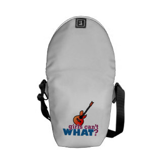 Girls Can t WHAT Guitar Courier Bag