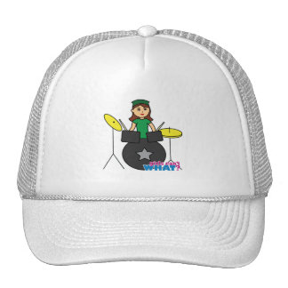Girls Can't WHAT? ColorizeME Custom Design Trucker Hat