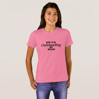 Girls, canvas Jersey T-shirt, marks clothing, T-Shirt