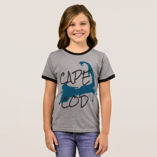 Girl's Cape Cod Massachusetts Shirt