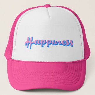 girls caps, cute hats for girls happiness pink