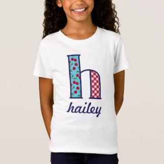 Girls Cherry Shirt Girls Country Monogram Top h