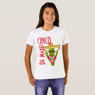 Girls Cinco de Mayo T-Shirt