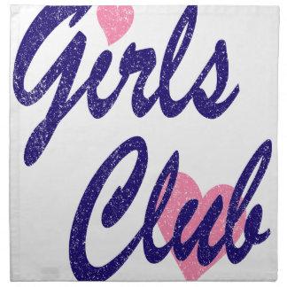 girls club napkin