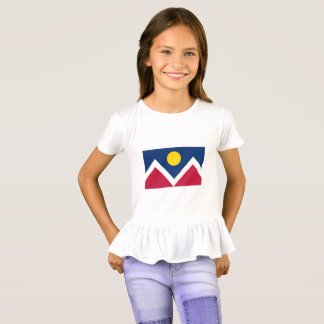 Girl's Colorado Ruffle T-Shirt