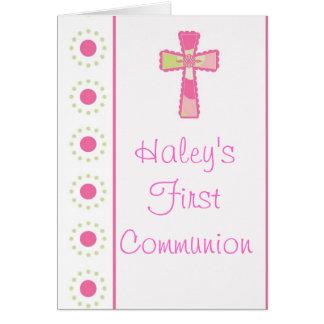 Girl's Communion or Christening Invitations