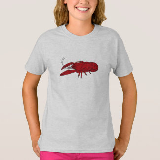 Girl's Crawfish Tee