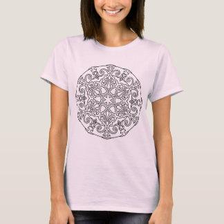 Girls creative TSHIRT with mandala art