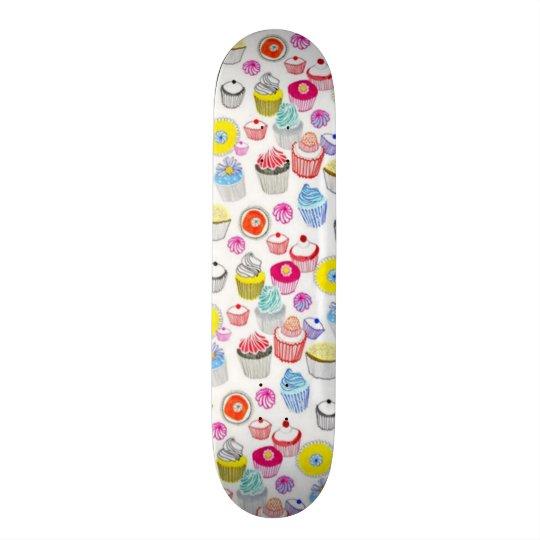 Girl's Cupcake Surprise Deck Skate Deck