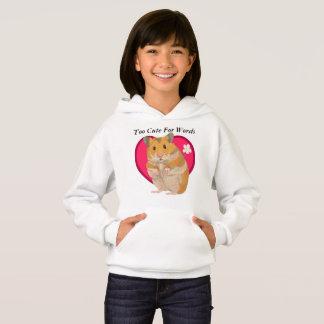 Girls Cute Hamster T Shirt