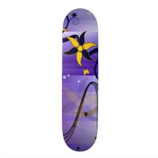 Girl's Daisy Drop Custom Pro Park Board Skateboard Deck