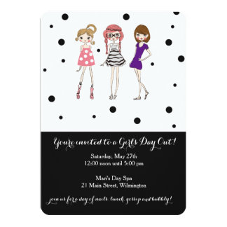 Girls Day / Bachelorette / Glamour Party Invite