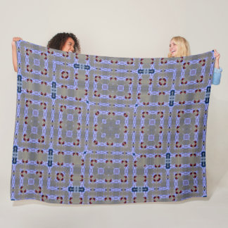 Girl's Decorative Baby Unicorn Pattern Quilt Fleece Blanket