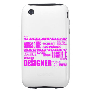 Girls Designers Birthdays : Pink Greatest Designer Tough iPhone 3 Cover
